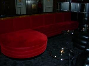 Rival loungebar, tyg :Kvadrat