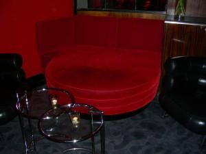 Rival loungebar, tyg:Kvadrat